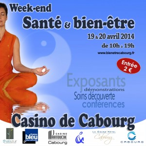WE Santé & BE Cabourg 2014 (Format carré logos)
