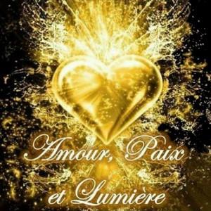 paix amour lumiere