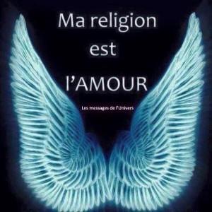 ma religion est l'amour